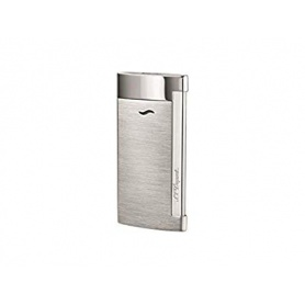 Dupont lighter Slim7 line color silver satin - 027701