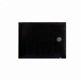 Portafoglio uomo Dupont porta carte di credito pelle lucida nero - 180001