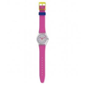 Orologio Swatch Fluo Pink silicone fucsia summur2018 - GE256