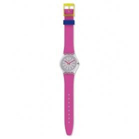 Swatch Watch Fluo Pink silicone fuchsia summer2018 - GE256