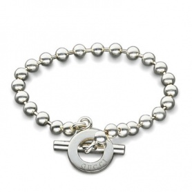 Bracciale Gucci Boule in argento YBA010294001020