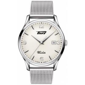 Orologio Tissot Heritage Visodate bianco T1184101127700