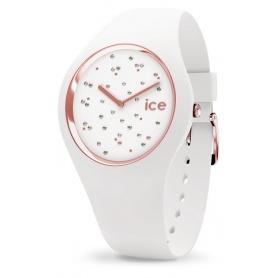 Cosmos Star White Ice Watch aus Silikon