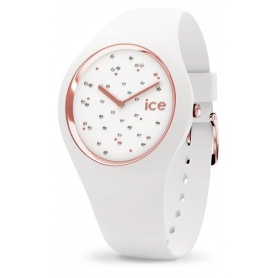 Cosmos Star White Ice Watch made of silicone