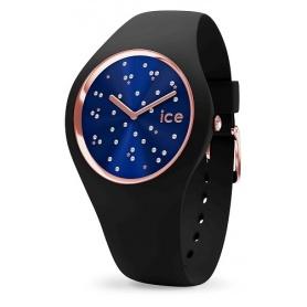 Cosmos Star Deep Blue Ice Uhr aus Silikon