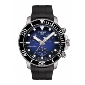 Watch Tissot Seastar Chono Quartz rubber T1204171704100