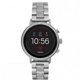 Schauen Sie sich Fossil Smartwatch Gen4 Venture Hr Steel und Swarovski an