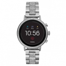 Watch Fossil Smartwatch Gen4 venture Hr steel and swarovski
