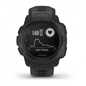 Schauen Sie sich Garmin Instinct Tm Graphite Smartwatch schwarz - 010-02064-00 an