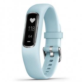 Garmin Vivosmart4 Uhr blau / silber Fitness Smartwatch