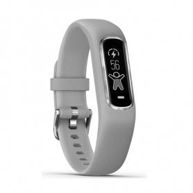 Garmin Vivosmart4 Uhr grau / silber Fitness Smartwatch