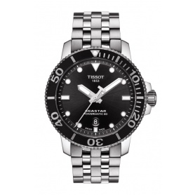 Tissot Seastar Powermatic steel T1204071105100 watch