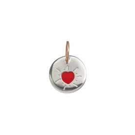 Micro red heart coin Queriot novelty2019 - F18A03XRD01