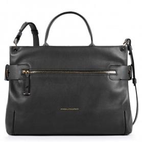 Damentasche Piquadro Lol schwarz BD4699S102 / N