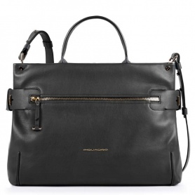 Woman bag Piquadro Lol black BD4699S102 / N
