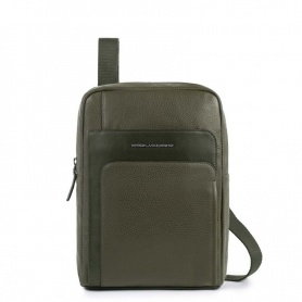 Piquadro Feels olive green medium bag CA4263S97 / VE