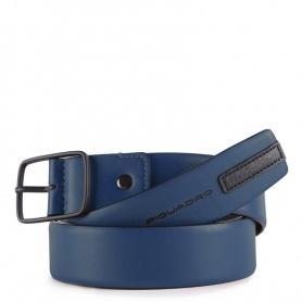 Herrengürtel Piquadro Usie blau CU4716S99 / BLU