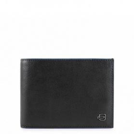 Wallet man Piquadro Blue Square black PU257B2SR / N
