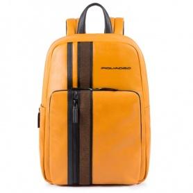 Unisex backpack Piquadro Usie ocra CA4712S99 / G