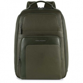 Large Piquadro Feels olive backpack CA4611S97 / VE
