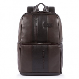 Unisex backpack Piquadro Urban dark brown CA3214UB00 / TM