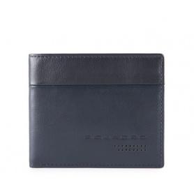 Piquadro Urban Herren Slim Brieftasche blau - PU4823UB00R / BLUE