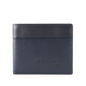 Piquadro Urban men's slim wallet blue - PU4823UB00R / BLUE