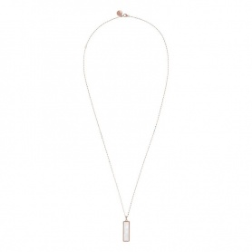 Rechteckige Bronzallure-Halskette WSBZ01384