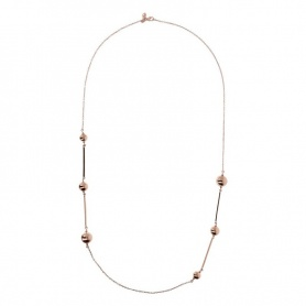 Bronzallure necklace Pallina golden rosè WSBZ01350