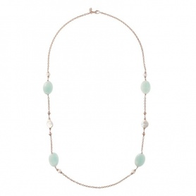 Bronzallure-Halskette Farbige Details - WSBZ01410