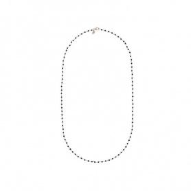 Bronzallure Amorette Spinello schwarze Halskette - WSBZ01257