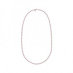 Amorette - Halskette mit rotem Bronzallure-Achat - WSBZ01254