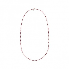 Amorette Red Bronzallure Agate Necklace - WSBZ01254