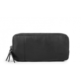 Piquadro Urban Pouch black with three hinges with handle