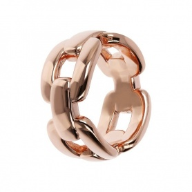 Bronzallure ring Geometrie rose gold - WSBZ01443