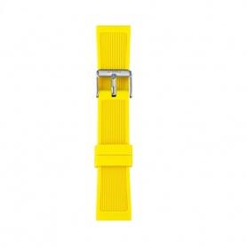 Cinturino in silicone I AM uomo giallo IAM309