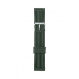 Cinturino in silicone I AM uomo verde scuro IAM310