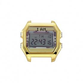 Orologio digitale I AM donna giallo e acciaio gold IAM004