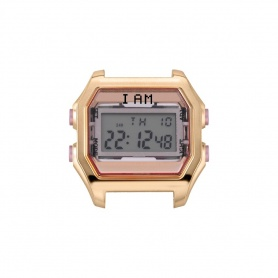 I AM women's pink and rose gold IAM003 digital watch