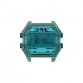 Orologio digitale I AM donna verdone e blu trasparente IAM008
