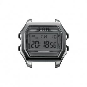 Orologio digitale I AM uomo grigio e brunito IAM101