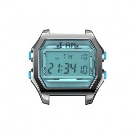 Orologio digitale I AM uomo verde acqua e brunito IAM102