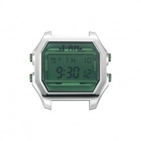 Orologio digitale I AM uomo verde bottiglia e acciao IAM104