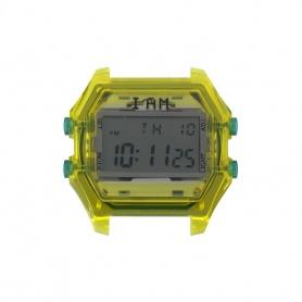 Orologio digitale I AM uomo verde e verde trasparente IAM109