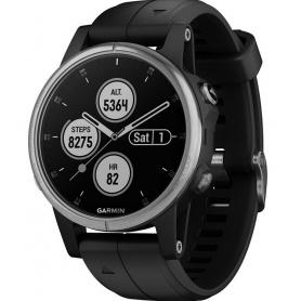 Garmin Fenix5S Plus Premium-Uhr Multisport GPS Stahl