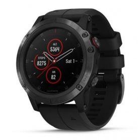 Garmin Fenix5X Plus Sapphire Multisport Pulse ox watch
