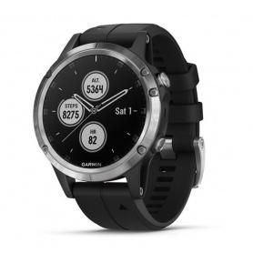 Garmin Fenix5 Plus Uhr Multisport GPS schwarzes Armband