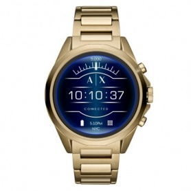 Armani Exchange watch Drexler gold blue dial - AXT2001