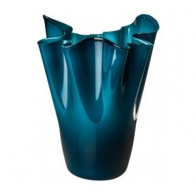 Venini vaso Fazzoletto Limited Edition Opalino colore orizzonte - 700.05