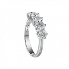 Salvini five-stone ring with Lavinia collection gold and diamonds